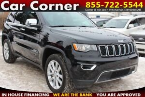 2017 Jeep Grand Cherokee Limited Limited 4WD