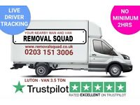 PROFESSIONAL, UNBEATABLE PRICES ON MAN & VAN, REMOVALS, INSTANT ONLINE QUOTE, UK & EUROPE 24/7 FEC