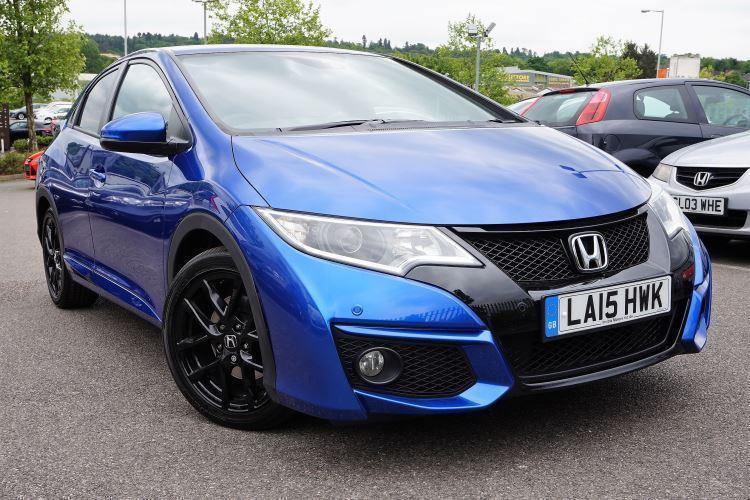 2015 Honda Civic 18 I Vtec Sport Nav Automatic Petrol Hatchback