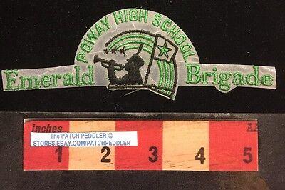 For sale Patch ~ POWAY HIGH SCHOOL CALIFORNIA SAN DIEGO EMERALD BRIGADE 5NV