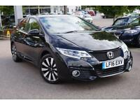 2016 Honda Civic 1.8 i-VTEC SR 5dr Manual Petrol Hatchback
