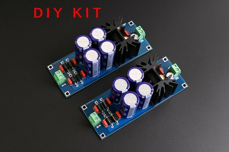 2x HIGH-END PSU kit LT1084CP PRO Linear adjustable regulated DC power supply kit