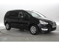 2015 (65 Reg) Ford Galaxy 2.0 TDCi 140 Zetec Powershift Panther Black MPV DIESEL