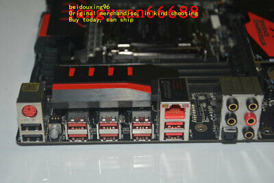 MSI X99S GAMING 9 AC overclocking game board Support I7 5820K 5960X, used for sale  China