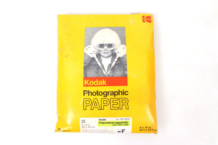 Photographic Developing Paper, 8x10