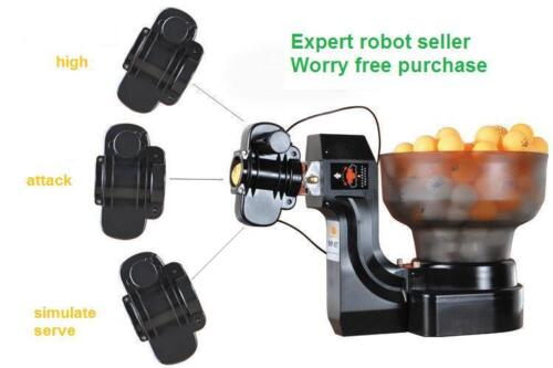HP-07 (many other model available) Ping Pong Table Tennis Robot Ball Machine