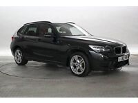 BMW X1 2.0 M SPORT xDRIVE 5 DOOR (BLACK) 2012 - 1 YEAR MOT