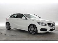 2013 (13 Reg) Mercedes A180 1.5 CDi BlueEFF AMG Sport Cirrus White 5 STANDARD DI