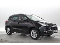 2013 (13 Reg) Hyundai IX35 1.7 CRDi Premium 4x2 # Pearl Black 5 STANDARD DIESEL