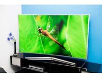 """Samsung UE65JS9000 Smart 4k SUHD 65"""" Curved LED TV"""