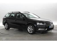 2013 (13 Reg) Volkswagen Passat 1.6 TDi BlueMotion Tech S Deep Black ESTATE DIES