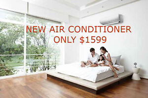 NEW AIR CONDITIONER & FURNACE ON SALE $1599 WITH INSTALLATION