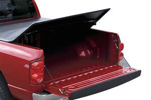 Dodge Ram 2002-2008 Tri-Fold Quad Cab Tonneau Cover London Ontario image 2