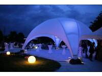 Dome marquee hire