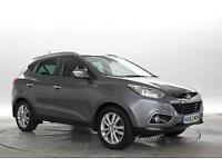 2013 (63 Reg) Hyundai IX35 2.0 CRDi Premium Met Grey DIESEL AUTOMATIC