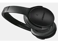 Bose Headphones -QuietComfort 25 Acoustic Noise Cancelling Headphones - Special Edition Triple Black