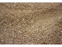 Sharp sand bulk ten ton load delivery