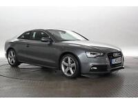 2013 (13 Reg) Audi A5 3.0 TDi 245 Quattro S-Line S-Tronic Monsoon Grey COUPE DIE