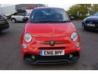2016 Abarth 595 1.4 T-Jet 180 Competizione 3dr Manual Petrol Hatchback