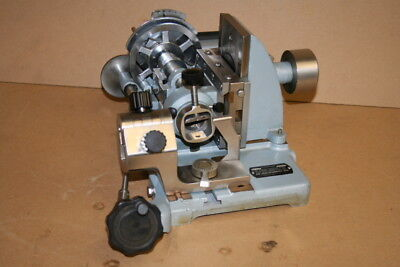 Microtome 840 Rotary American Optical With 831 Knife Holder