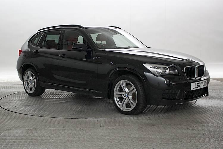 2013 62 reg bmw x1 2 0 sdrive20d m sport black sapphire 5 standard diesel manu in west. Black Bedroom Furniture Sets. Home Design Ideas