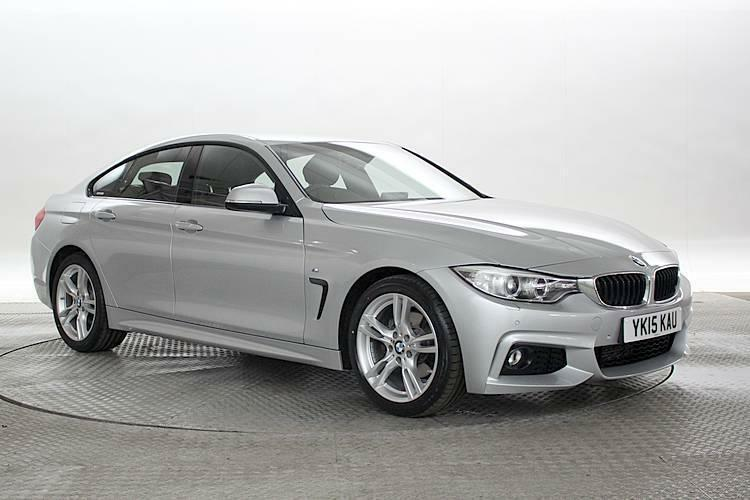 2015 15 reg bmw 420d 2 0 m sport gran coupe glacier silver coupe diesel manual in west. Black Bedroom Furniture Sets. Home Design Ideas