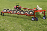 WGI Farm King Hay Rakes and Bale Wagons
