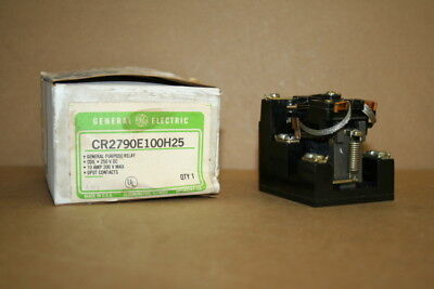 Relay 10 Amp 300vdc Cr2790e 100h25 General Electric Unused