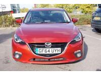 2014 Mazda 3 2.2d Sport Nav 4dr Manual Diesel Saloon