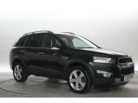2012 (12 Reg) Chevrolet Captiva 2.2 VCDi 184 LTZ Black DIESEL AUTOMATIC