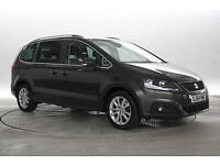 2014 (64 Reg) Seat Alhambra 2.0 TDi 140 SE Lux DSG Met Brown MPV DIESEL AUTOMATI