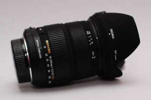 like new sigma 18 200 OS HSM zoom lens for canon dslr