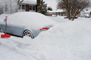 Snow removal - Why go through this before work?