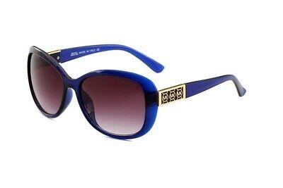 Michael Kors Sunglasses MK Blue Gold / Gray Gradient 57 mm