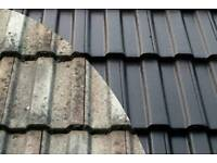 Roof cleaning and painting from £20/ metre