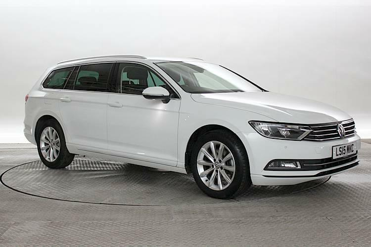 2015 15 reg volkswagen passat 1 6 tdi se business dsg white estate diesel auto in west. Black Bedroom Furniture Sets. Home Design Ideas