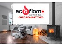 Stove new cast iron European stove