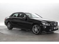 2015 (15 Reg) Mercedes E220 2.2 CDi BlueTEC AMG Line Obsidian Black DIESEL AUTOM