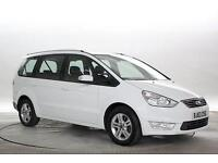 2013 (63 Reg) Ford Galaxy 2.0 TDCi 140 Zetec Powershift Frozen White MPV DIESEL