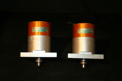 Pneumatic Cylinder Bore 1 58in Stroke 12in Fabco-air Lot Of 2