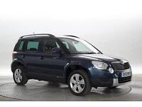 2013 (13 Reg) Skoda Yeti 2.0 TDi 140 SE DSG # Met Blue DIESEL AUTOMATIC