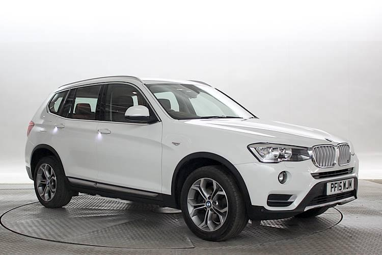 2015  15 Reg  Bmw X3 2 0 Xdrive20d Xline Alpine White Diesel Manual