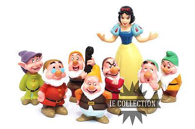 Schneeweiß und die Sieben Zwerge Set 8 Figure Kuchenteller Action 7 Disney Baby