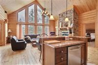Log house to rent in Canada