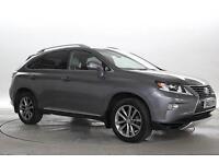 2013 (63 Reg) Lexus RX 450h 3.5 Premier Met Grey ELECTRICITY AUTOMATIC