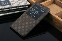 Louis Vuitton Leather S-View Flip Case for Samsung Galaxy Note 3