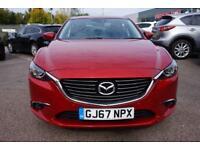 2017 Mazda 6 2.2d Sport Nav 4dr Manual Diesel Saloon