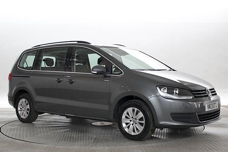 2013 13 Reg Volkswagen Sharan 2 0 Tdi 140 Bluemotion