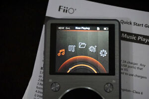FiiO X5 (2nd Gen) Audio Player with 32gb SD card - For Sale $225