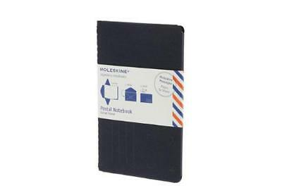 Moleskine Postal Notebook - Large Navy Blue,  -  - NEW